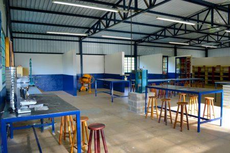 Laboratório de Engenharia Civil e Cursos Técnicos